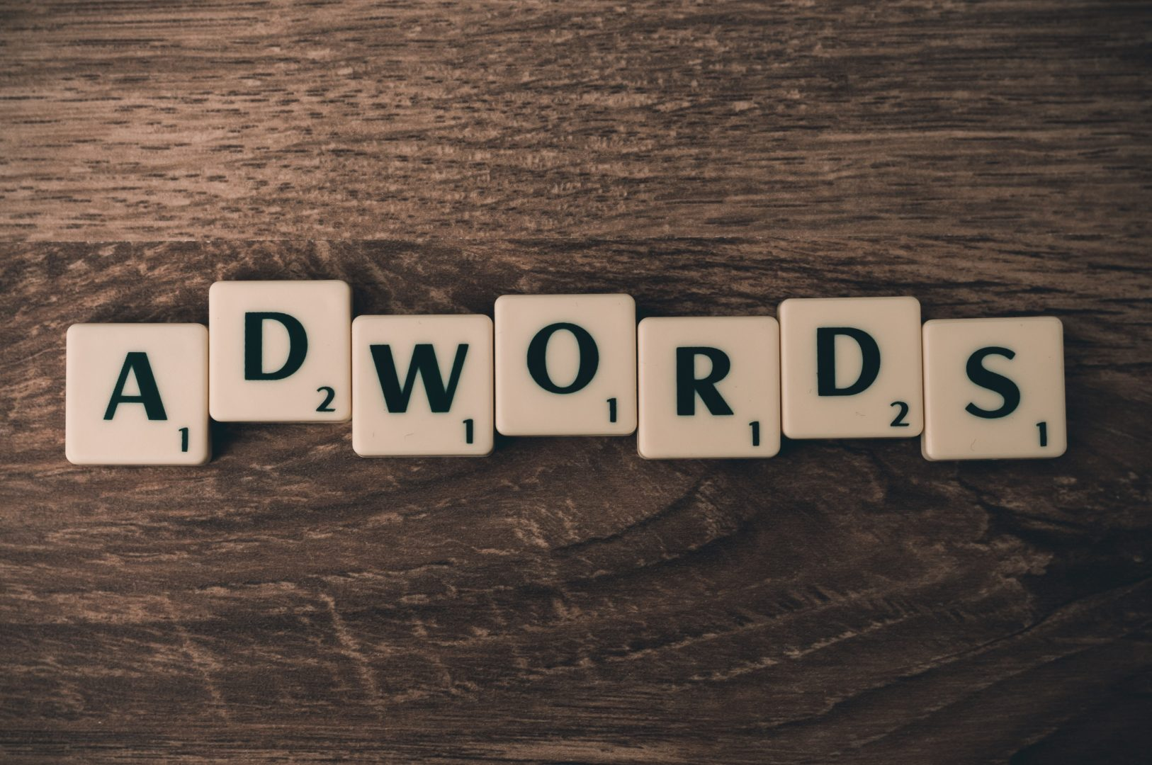 Google adwords campaign spelled out