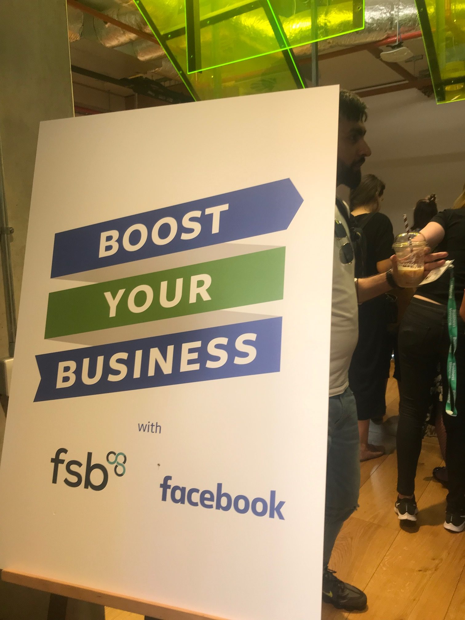 """Inside the """"Growing With Social"""" conference for small business owners at Facebook London Headquarters"""
