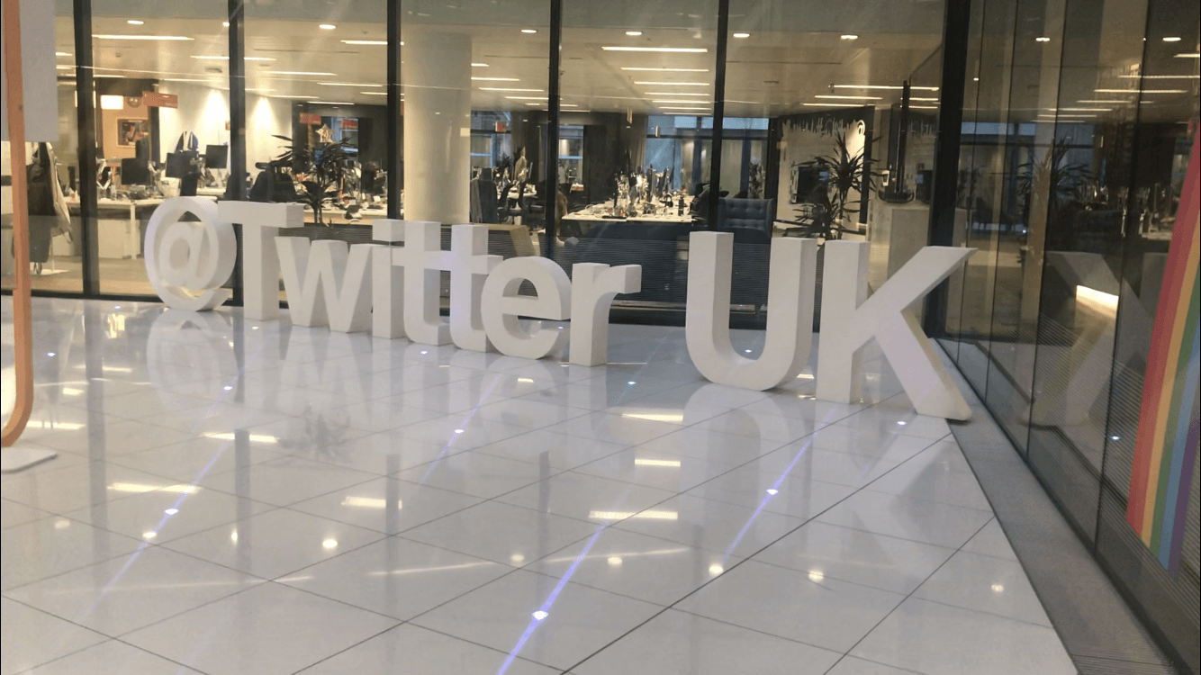 Q-Online's visit to Twitter headquarters in London (Tour of Twitter's Office)