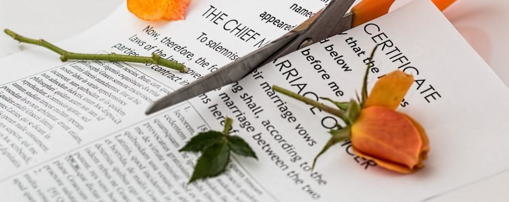 alimony annulment break up paper