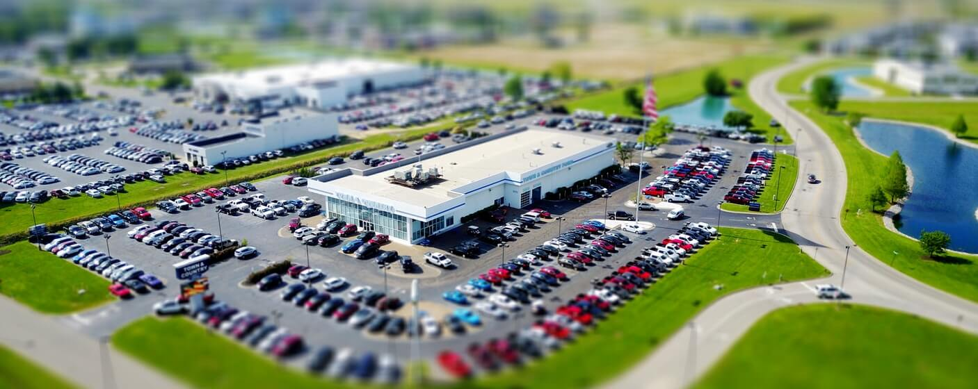 car dealership megastore