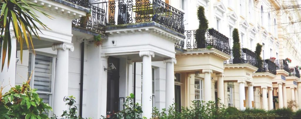 property in central london