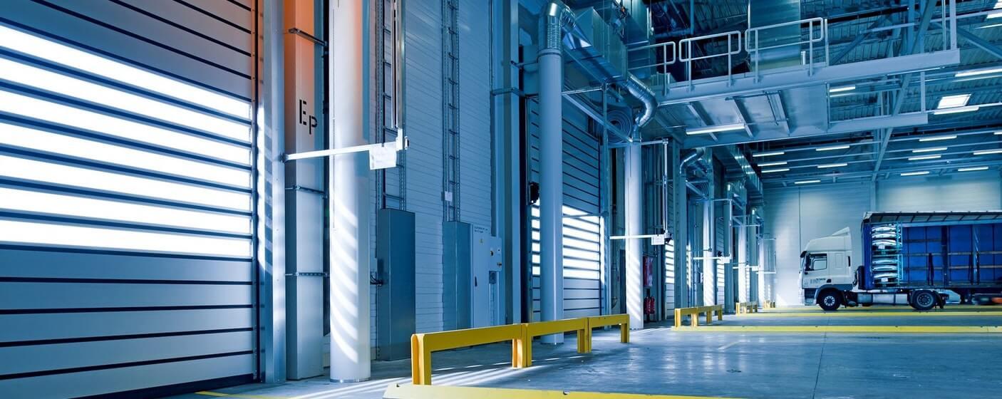 warehouse line markings