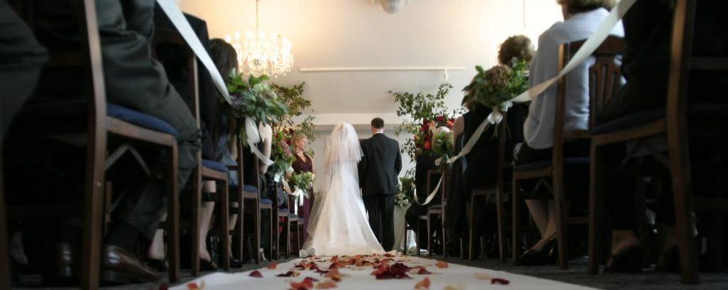 wedding at a wedding venue