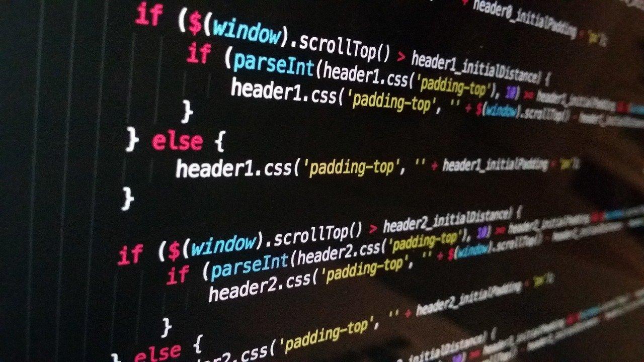 custom html code used for website design