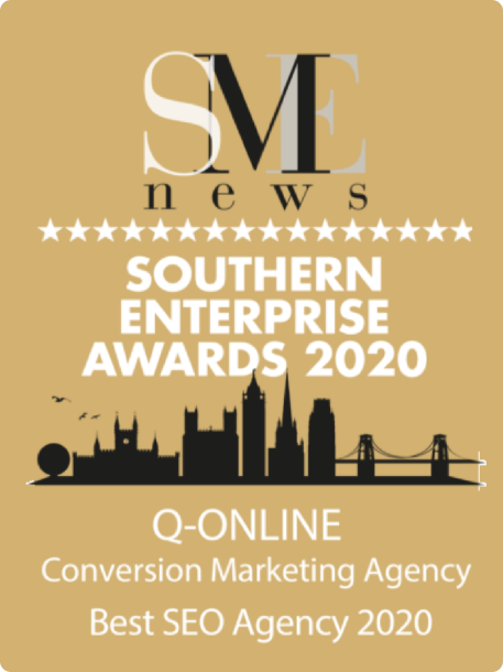 Southern Enterprise Awards 2020 Q online Best SEO Agency